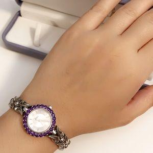 "VINTAGE  925 Sterling Silver Watch ""Japan Quartz"""